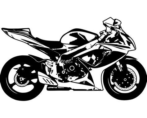 Motorräder Deutschland Hersteller by Wandtattoo Motorrad Rennmotorrad Kaufen Bei Plot4u