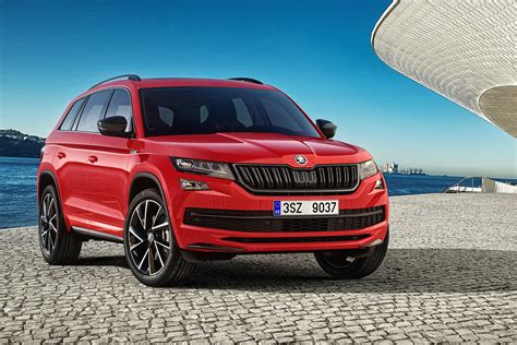 skoda kodiaq sportline sporty skoda kodiaq sportline suv uk prices revealed