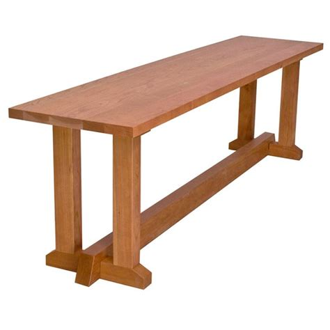 javascript bench wood trestle bench solid wood dining furniture boston usa made