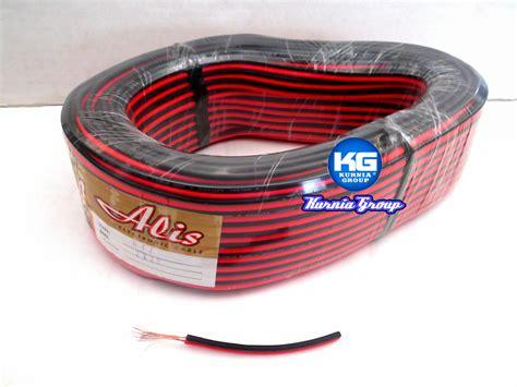 Kabel Listrik Nymhy Serabut 2 X 075mm Panjang 50 Yakushin jual kabel serabut nyz 2x23mm alis 80 meter tebal kurnia