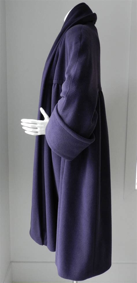 purple swing coat chanel 1991 vintage purple swing coat at 1stdibs