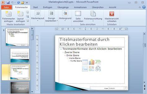 powerpoint layout auf alle folien übertragen powerpoint 2010 2 2 3 beispiel 44 platzhalter f 252 r titel