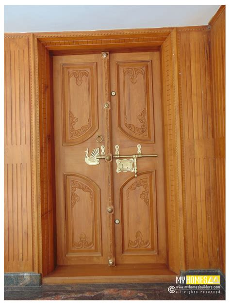 Design Of Front Door Of House Door Design Comtemporory Kerala Studio Design Gallery Best Design