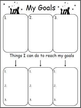 Good Morning Ms Williams The Teacher Treasury Goal Planning Template 2