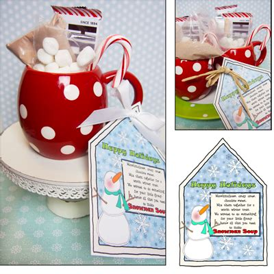 gift ideas for groups gifts snowman soup 410 11 490 2 00