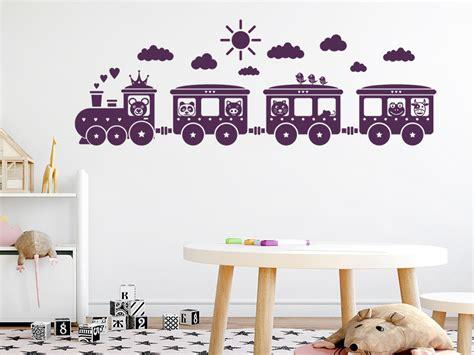 Kinderzimmer Gestalten Eisenbahn by Wandtattoo Kinder Eisenbahn Wandtattoo De