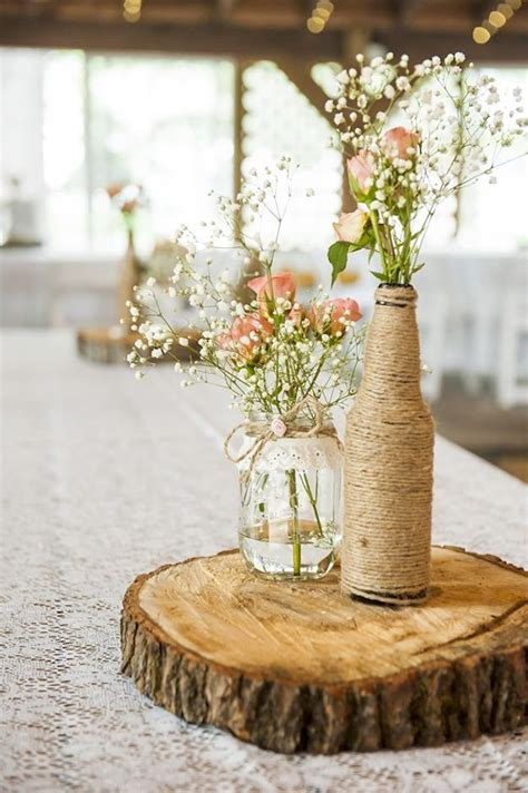 17 best ideas about rustic centerpieces on