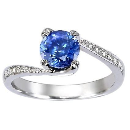 The Valuable of Blue Sapphire Engagement Rings Engagement