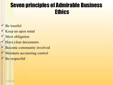 Mba Notes On Business Ethics by Business Ethics And Corporate Social Responsibility