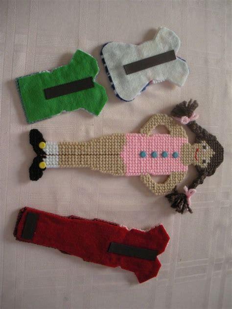 Paper Doll Craft Ideas - plastic canvas quot paper doll quot wardrobe 2 craft ideas