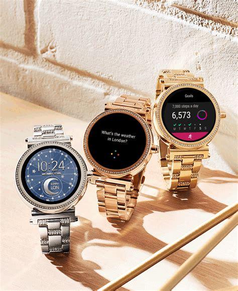 Glitz Smartwatch Tech By Michael Kors Macy S