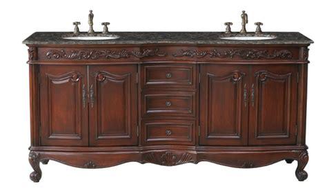 bathroom vanities sink 72 72 inch sink bathroom vanity in antique cherry