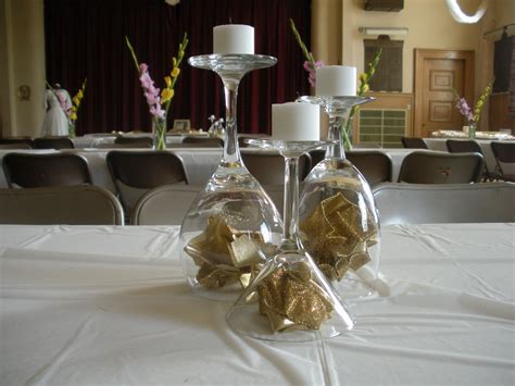 Wedding Anniversary Table Decorations by Handmade 50th Anniversary Table Decorations Photograph Wed