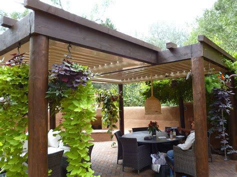 Natural Wooden Patio Covers Homesfeed Wood Patio Designs