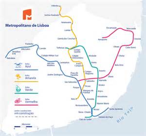 Lisbon Subway Map by Lisbon Metro Map Lines Route Hours Tickets