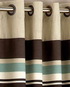 Brown And Blue Curtains Harvard Duck Egg Blue Brown Eyelet Lined Curtain Curtains Uk