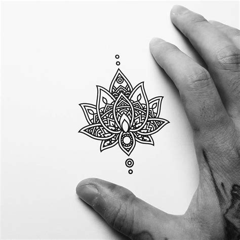 small mandala tattoo small mandala design