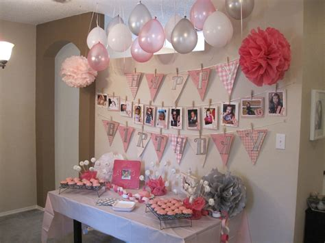 home birthday decorations birthday decoration ideas at home for baby girl