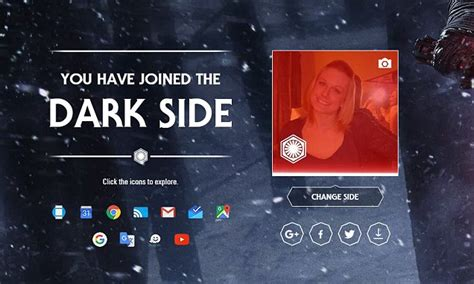 theme google chrome star wars google star wars chooseyourside game adds easter eggs to