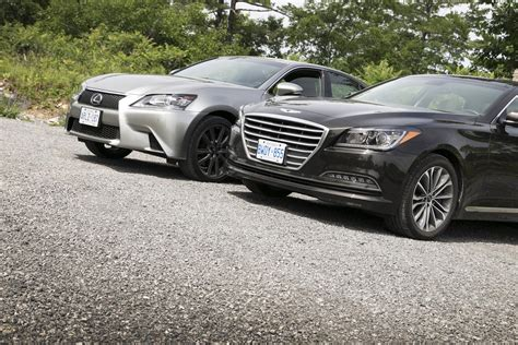 2015 hyundai genesis vs 2015 hyundai genesis vs versus autos post