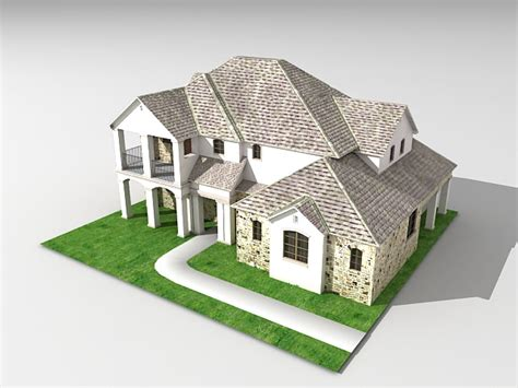 house 3d model free download average american house 3d model 3ds max files free