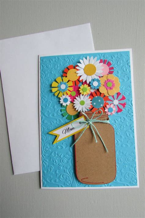 Handmade Greeting Card For - greeting cards best 25 mothers day greeting