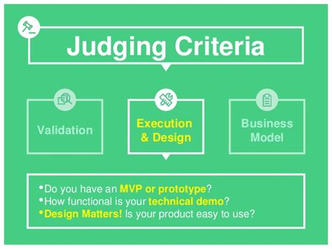 combustor design criteria validation startup weekend your 5 minute pitch