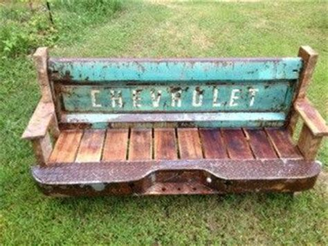 truck tailgate bench seat tailgate bench benches and reclaimed barn wood on pinterest