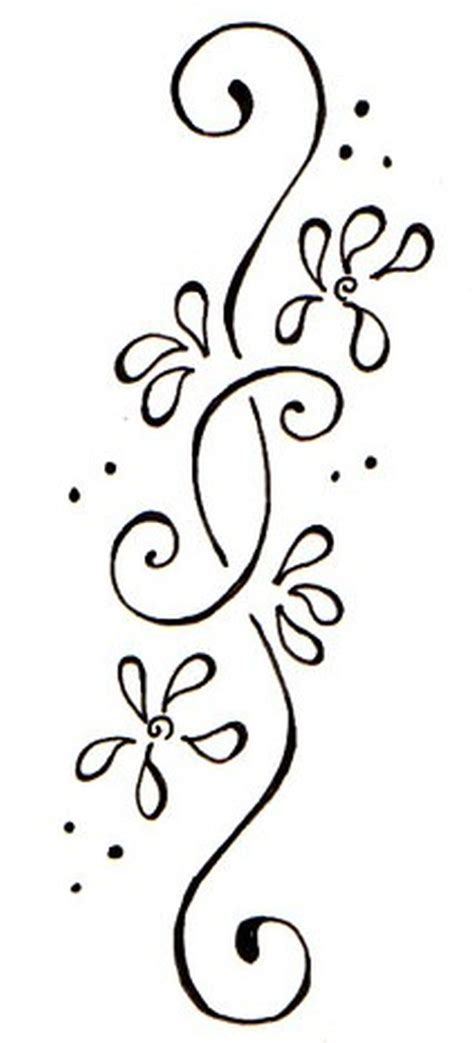 vine with flowers tattoo design flower vine design tattoos book 65 000 tattoos
