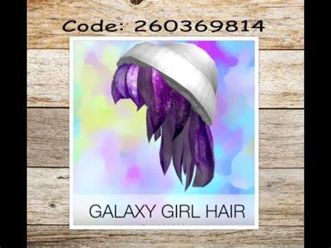roblox code for long hair 15 roblox hair codes girls youtube
