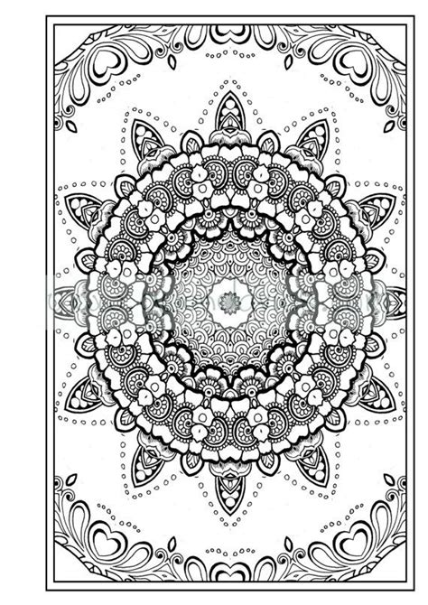 zen mandalas coloring book pdf 25 best ideas about colouring in on