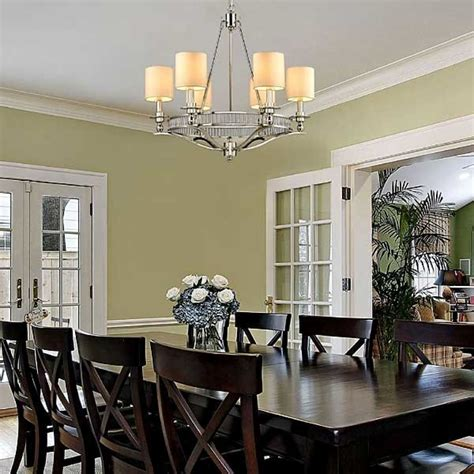 Best Dining Room Chandeliers Rectangle White Shade Chandelier For Dining Room Interior With Modern Chandeliers Picture