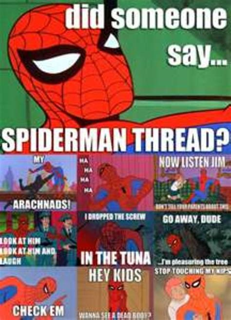 Retro Spiderman Meme - spider man time 60s spider man know your meme