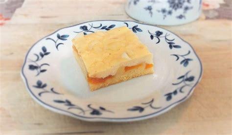 schmand kuchen pfirsich schmand kuchen rezept mit bild