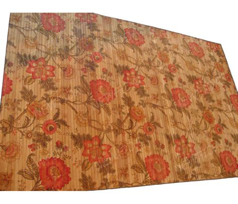 painted bamboo rugs stylish 4 x 6 no border non slip backing painted bamboo rugs buy painted bamboo rugs