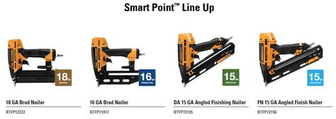 Bostitch Releases New Smart Point Finish Amp Brad Nailers