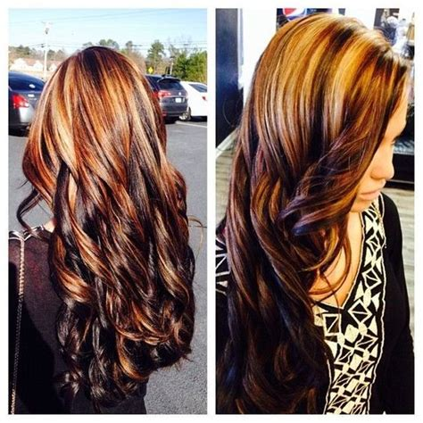 cute highlights blonde brown hair with blonde and red highlights cute