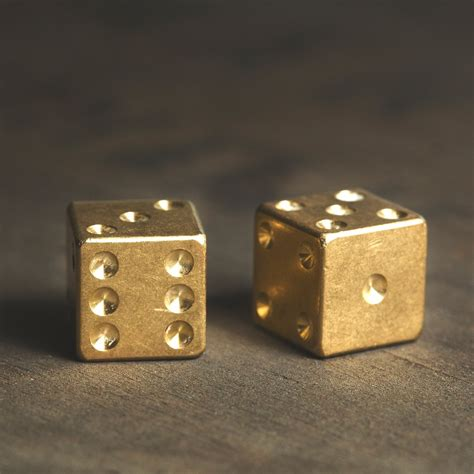 brass ls for sale solid machined brass dice made in the usa cool material