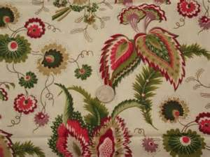 Home Decorator Fabric By The Yard vintage floral print cotton chintz fabric lot crisp