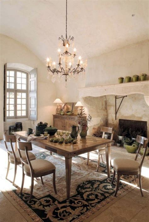 elegant decor elegant decor in the dining room with rustic furniture
