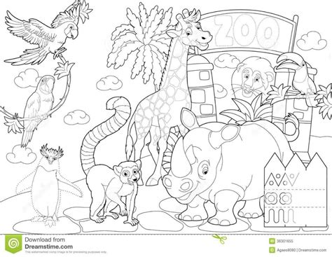 coloring page empty empty zoo cage coloring page coloring page