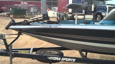 ls185 boat 1997 hydrasport 175e 17 bass boat youtube