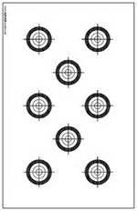 printable 11x17 targets smallbore 22 caliber rifle targets download and print 11 x