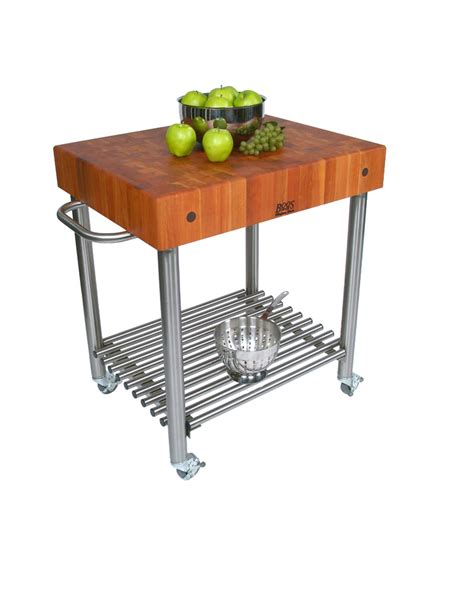 boos kitchen islands sale john boos cucina d amico kitchen cart with cherry top on
