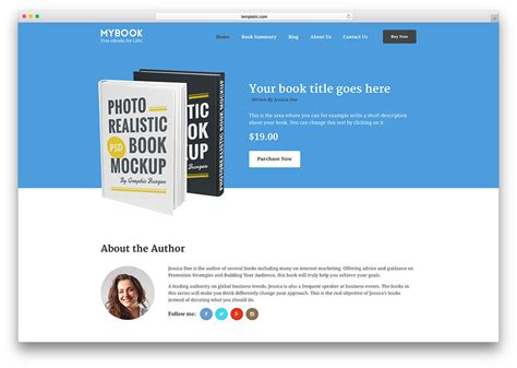 themes in the book sold clear and responsive wordpress themes for promoting ebooks