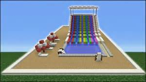 how to make a water slide in your backyard minecraft tutorial how to make a water slide mini water