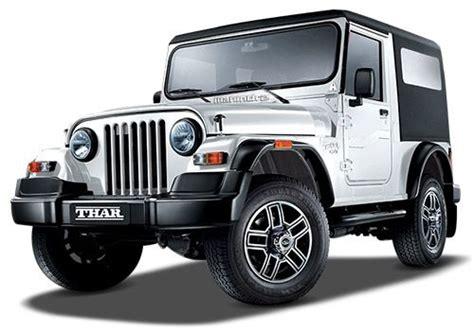 thar jeep white mahindra thar di 4x4 colors cardekho com