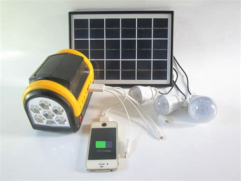 portable solar lighting system portable 5w solar home lighting system with mp3 radio 3