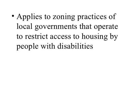 fair housing amendments act of 1988 the fair housing act 2