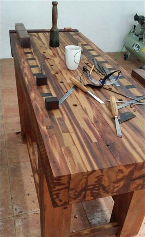woodworking bench woodworking session